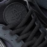 Nike Air Huarache Run Women's Sneakers Triple Black photo- 6