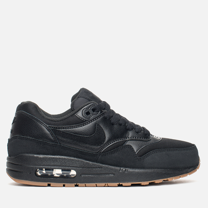 Женские кроссовки Nike Air Max 1 Essential Black/Black/Gum