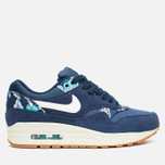 Женские кроссовки Nike Air Max 1 Print Aloha Pack Midnight Navy/Sail/Tide Pool Blue фото- 0