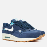 Женские кроссовки Nike Air Max 1 Print Aloha Pack Midnight Navy/Sail/Tide Pool Blue фото- 1