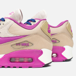 Женские кроссовки Nike Air Max 90 Leather Desert/Purple фото- 5