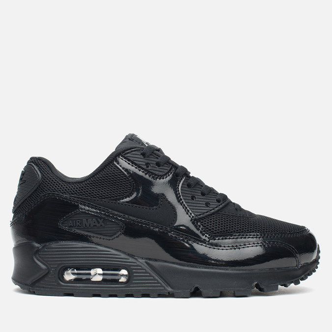 Женские кроссовки Nike Air Max 90 Premium Black/Metallic