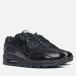 Женские кроссовки Nike Air Max 90 Premium Black/Metallic фото- 1