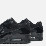 Женские кроссовки Nike Air Max 90 Premium Black/Metallic фото- 5