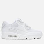 Женские кроссовки Nike Air Max 90 Premium White/Metallic Silver фото- 0