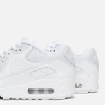 Женские кроссовки Nike Air Max 90 Premium White/Metallic Silver фото- 5