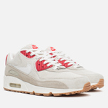 Женские кроссовки Nike Air Max 90 QS City Pack New York Strawberry Cheesecake Beige/Red фото- 1