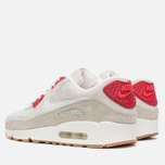 Женские кроссовки Nike Air Max 90 QS City Pack New York Strawberry Cheesecake Beige/Red фото- 2