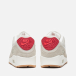 Женские кроссовки Nike Air Max 90 QS City Pack New York Strawberry Cheesecake Beige/Red фото- 3