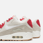 Женские кроссовки Nike Air Max 90 QS City Pack New York Strawberry Cheesecake Beige/Red фото- 5