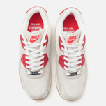 Женские кроссовки Nike Air Max 90 QS City Pack New York Strawberry Cheesecake Beige/Red фото- 4