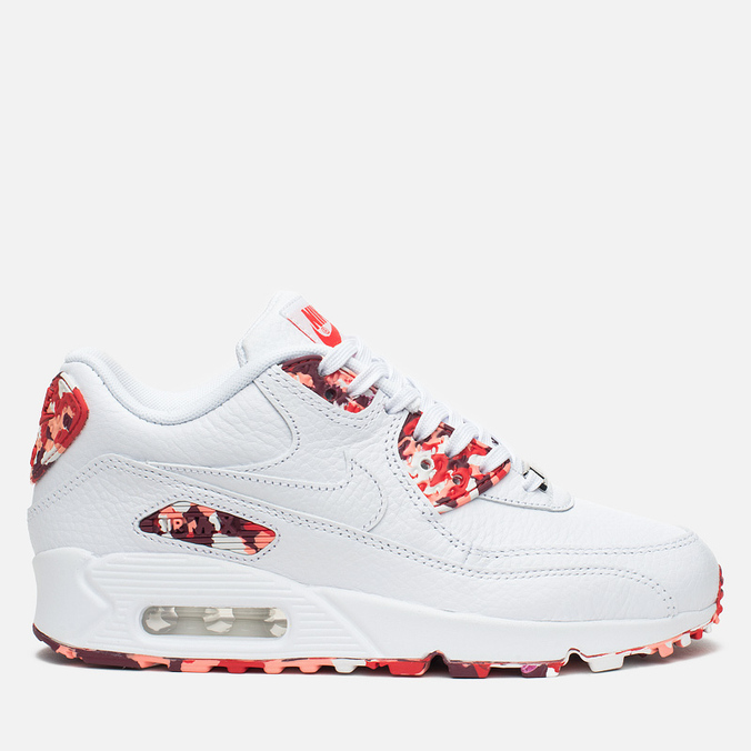 Женские кроссовки Nike Air Max 90 QS City Pack London Eton Mess White