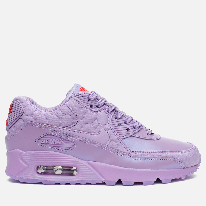 Женские кроссовки Nike Air Max 90 QS City Pack Paris Macaron Viola/Fuchsia Glow
