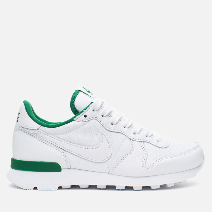Женские кроссовки Nike Internationalist Wimbledon QS White/Ultraviolet/Pine Green