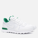 Женские кроссовки Nike Internationalist Wimbledon QS White/Ultraviolet/Pine Green фото- 1