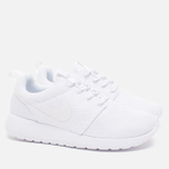 Женские кроссовки Nike Roshe One White фото- 1