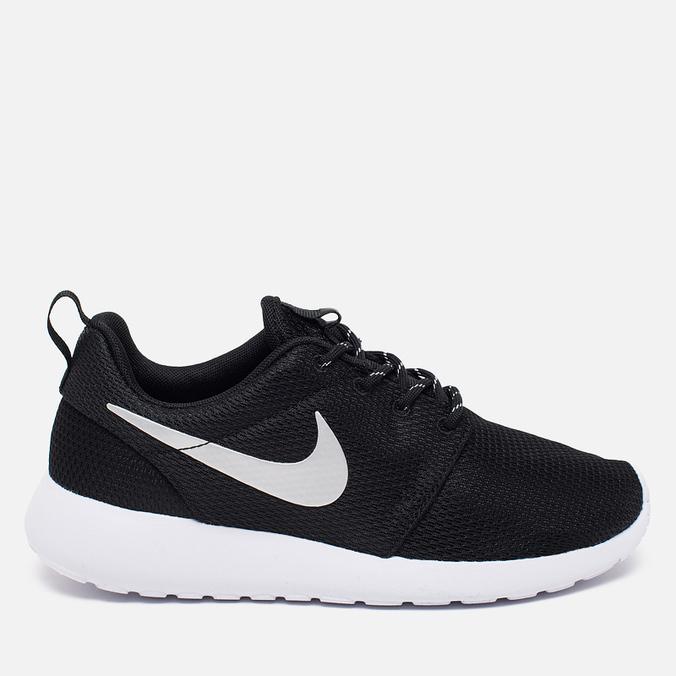 Женские кроссовки Nike Rosherun Black/White/Platinum