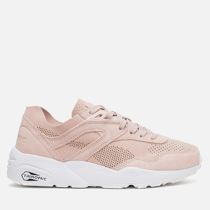 Женские кроссовки Puma R698 Soft Pack Pink Dogwood/White