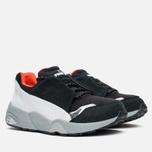 Puma x Alexander Mcqueen Lace Disc Sneakers Black/White photo- 1