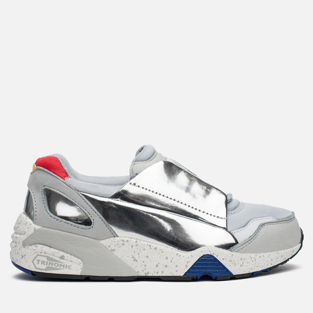 Кроссовки Puma x Alexander McQueen Lace Disc Gray Star White/Puma Silver