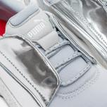 Кроссовки Puma x Alexander McQueen Lace Disc Gray Star White/Puma Silver фото- 6