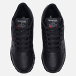 Женские кроссовки Reebok Classic Leather Black фото- 4