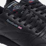 Женские кроссовки Reebok Classic Leather Black фото- 5