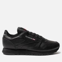 Женские кроссовки Reebok Classic Leather Black фото- 0