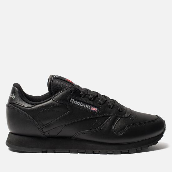 Женские кроссовки Reebok Classic Leather Black