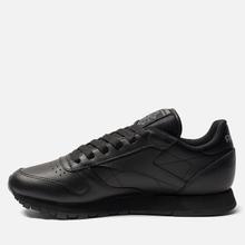 Женские кроссовки Reebok Classic Leather Black фото- 2