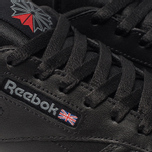 Женские кроссовки Reebok Classic Leather Black фото- 6