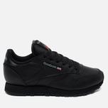 Reebok Classic Leather Women's Sneakers Black photo- 0