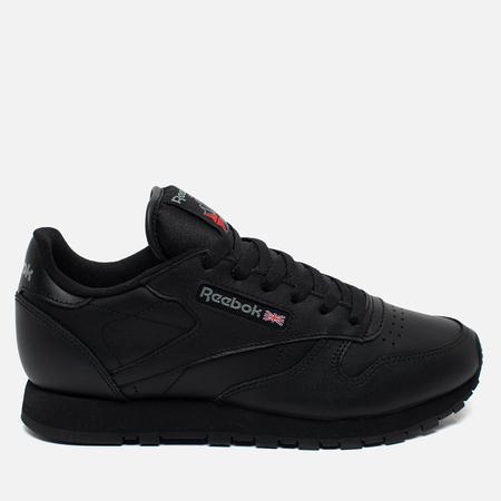 Reebok Classic Leather Women's Sneakers Black