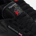 Reebok Classic Leather Women's Sneakers Black photo- 3