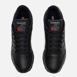 Reebok Classic Leather Women's Sneakers Black photo- 4