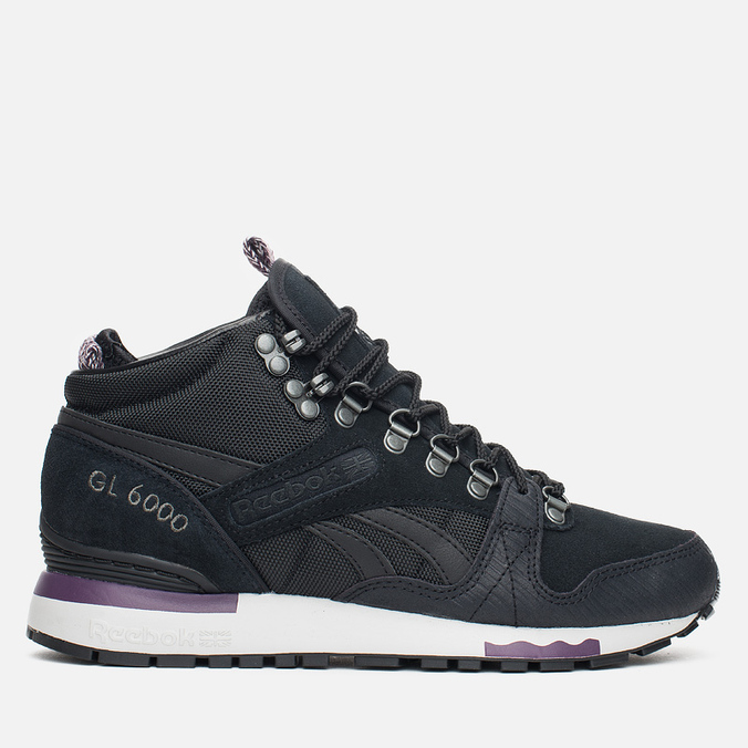 Женские кроссовки Reebok GL 6000 MID Alphine Black/Royal Orchid/Steel