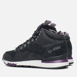 Женские кроссовки Reebok GL 6000 MID Alphine Black/Royal Orchid/Steel фото- 2