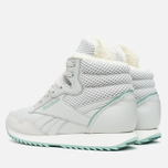 Reebok Rockeasy Ripple Knit Women's Winter Sneakers Steel/White/Winter Sage photo- 2