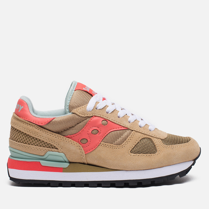 Saucony Shadow Original Women's Sneakers Beige/Pink