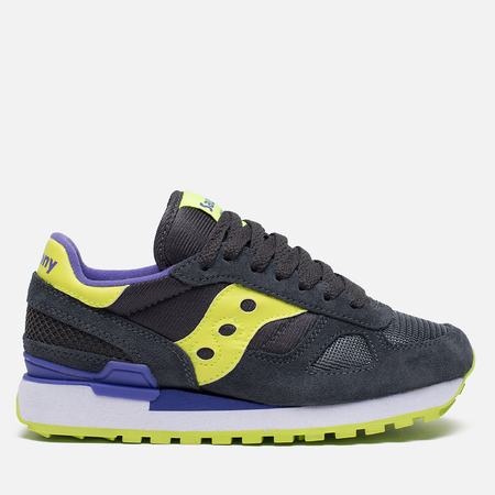 Saucony Shadow Original Women's Sneakers Charcoal/Citron
