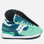 Женские кроссовки Saucony Shadow Original Green/Teal фото- 2