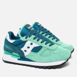 Женские кроссовки Saucony Shadow Original Green/Teal фото- 1