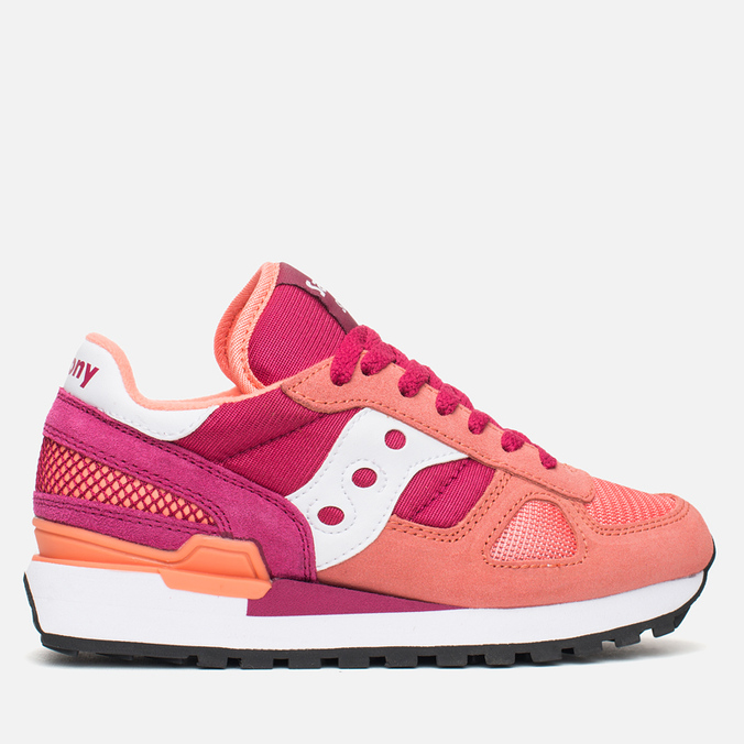 Saucony Shadow Original Womens Trainers Pink/Red