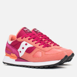 Saucony Shadow Original Womens Trainers Pink/Red photo- 1