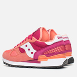 Saucony Shadow Original Womens Trainers Pink/Red photo- 2