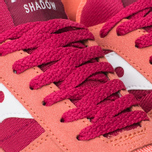 Saucony Shadow Original Womens Trainers Pink/Red photo- 5