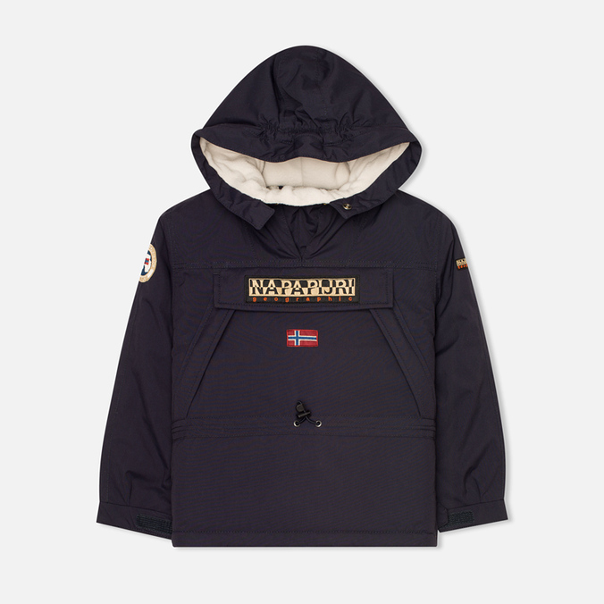 Детская куртка анорак Napapijri Skidoo A Blue Marine