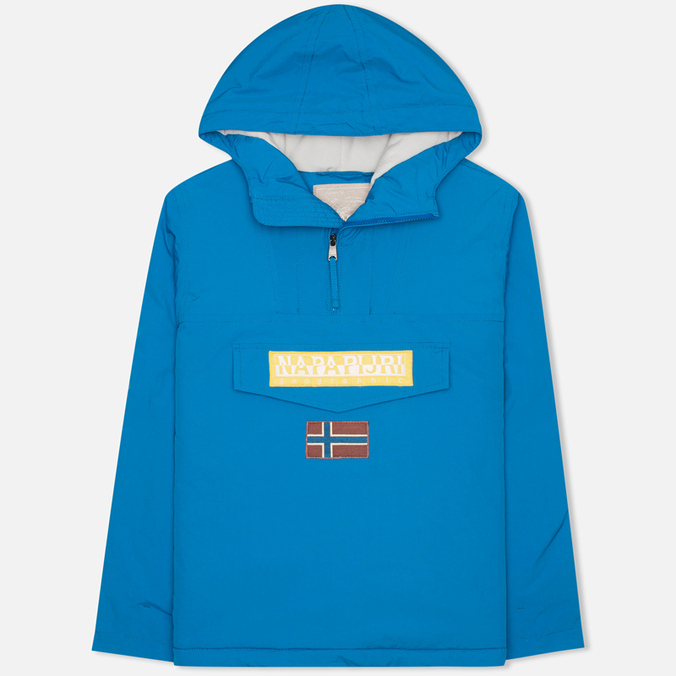 Napapijri Rainforest Neogeo Men's Anorak Blue
