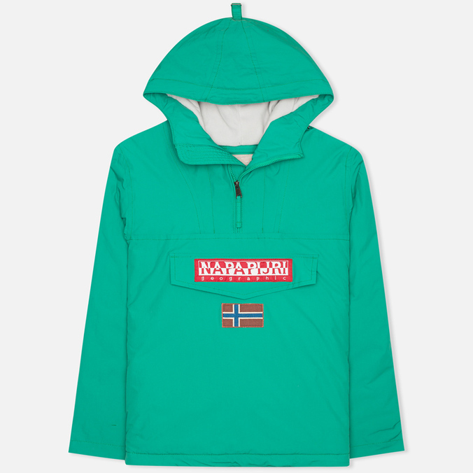 Napapijri Rainforest Neogeo Men's Anorak Green