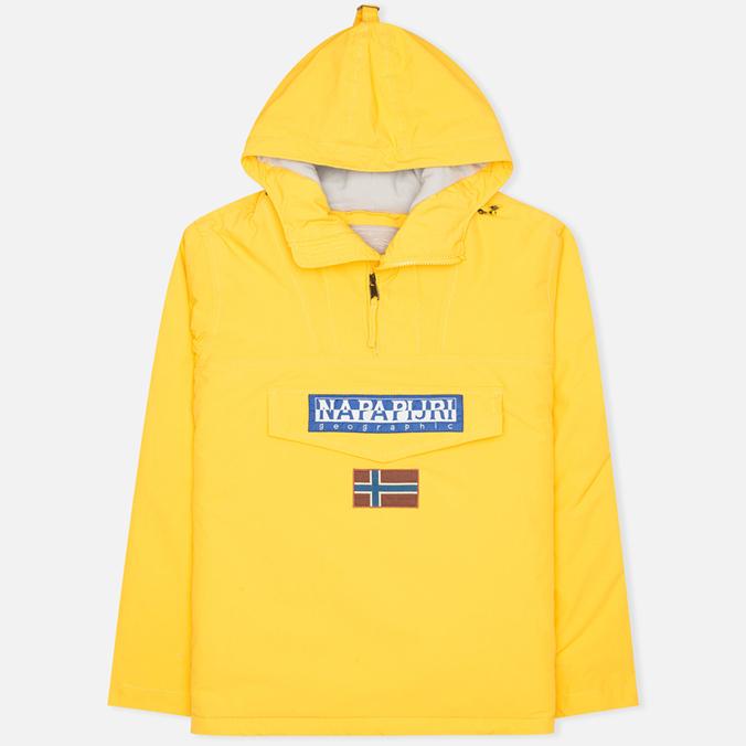 Мужская куртка анорак Napapijri Rainforest Neogeo Yellow